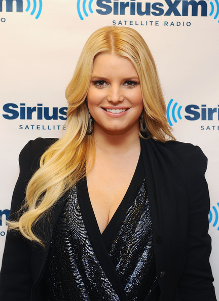 Jessica Simpson Long Curls