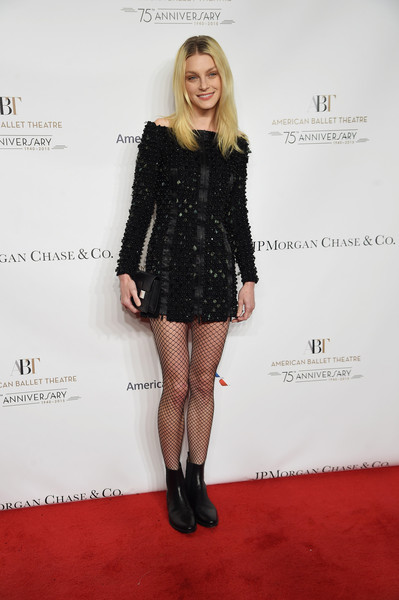 Jessica Stam Ankle Boots