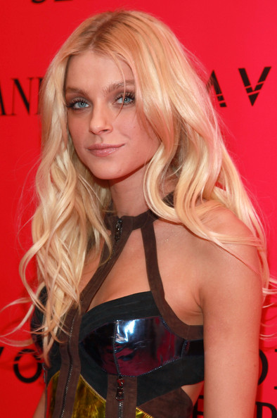 Jessica Stam Long Curls