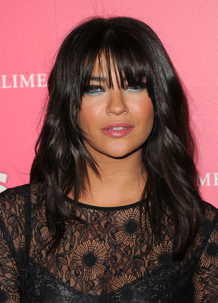 Jessica Szohr Bright Eyeshadow