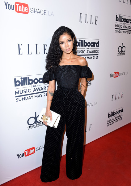 Jhene Aiko Off-the-Shoulder Top