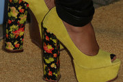 Jill Scott Platform Pumps
