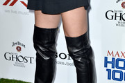 Jill Wagner Over the Knee Boots