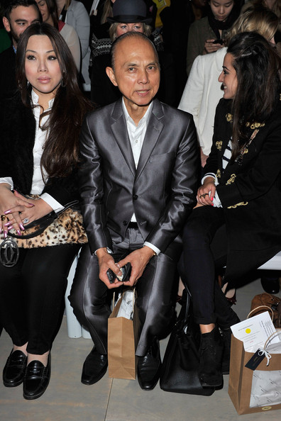 Celebrities On The Front Row at London Fashion Week Spring/Summer 2012