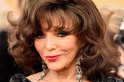 Joan Collins Medium Curls with Bangs