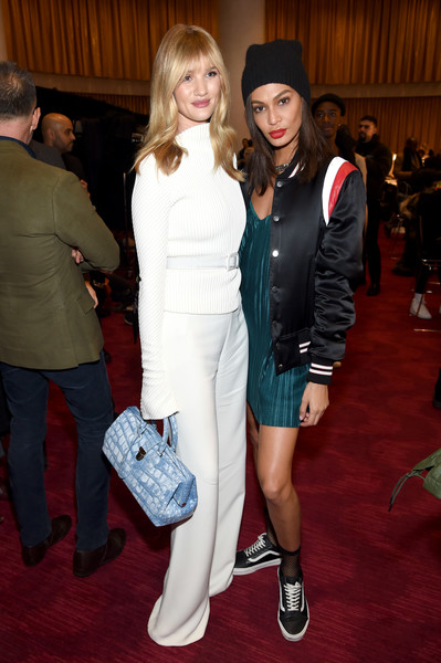 Joan Smalls Leather Sneakers