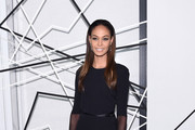 Joan Smalls Satin Clutch