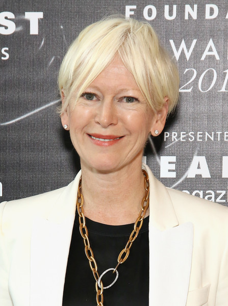 Joanna Coles Short Cut With Bangs [hair,face,hairstyle,blond,eyebrow,chin,layered hair,forehead,bob cut,lip,arrivals,editor-in-chief,joanna coles,fragrance foundation awards,new york city,hearst magazines,cosmopolitan]