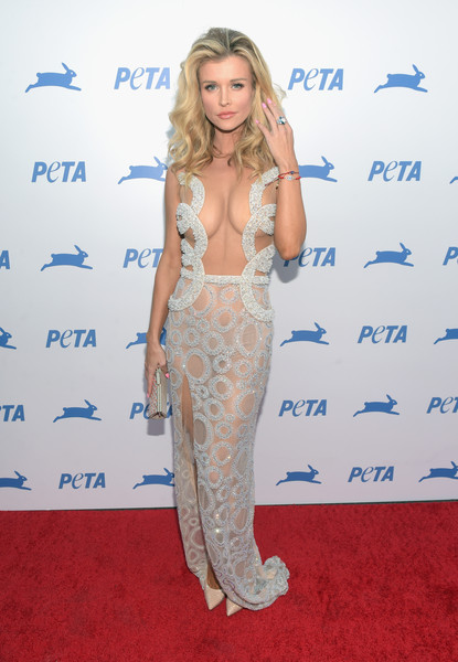 Joanna Krupa Beaded Dress
