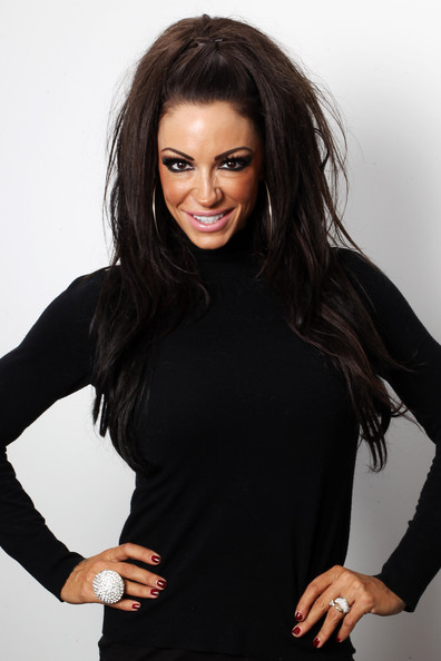 Jodie Marsh Retro Hairstyle