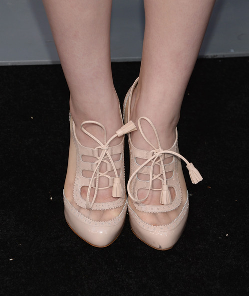 Joey King Ankle Boots