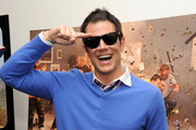 Johnny Knoxville V-neck Sweater