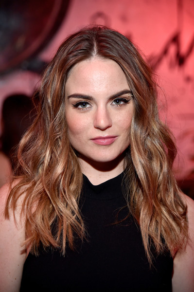 Jojo Long Wavy Cut [hair,face,hairstyle,blond,eyebrow,lip,beauty,long hair,brown hair,chin,jojo,nylon,west hollywood,california,young hollywood party,bcbgeneration,hyde sunset: kitchen cocktails]