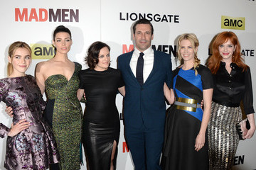 Jon Hamm Elisabeth Moss 'Mad Men' Season 7 Premiere in Hollywood — Part 3