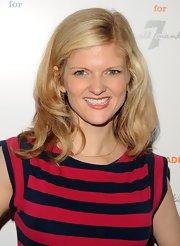 Arden Myrin went for a casual look while attending this New York City event she sported a shoulder length cut that was simple and chic.