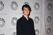 Jonathan Groff V-neck Sweater