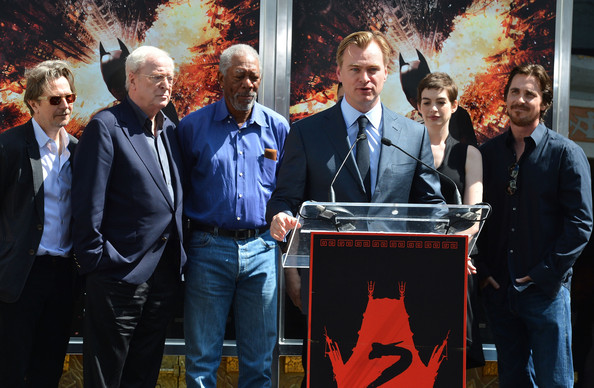 Christopher Nolan Immortalized With Hand And Footprint Ceremony