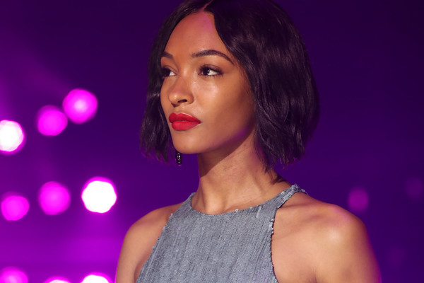 Jourdan Dunn Red Lipstick