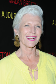 Maye Musk went edgy with this fauxhawk at the LA premiere of 'A Journey to Taiwan.'