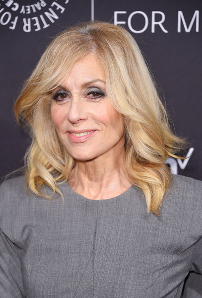Judith Light Medium Wavy Cut [paley honors: celebrating women in television,hair,face,blond,hairstyle,eyebrow,layered hair,chin,lip,long hair,beauty,judith light,new york city,cipriani wall street,the paley honors: celebrating women in television,event]
