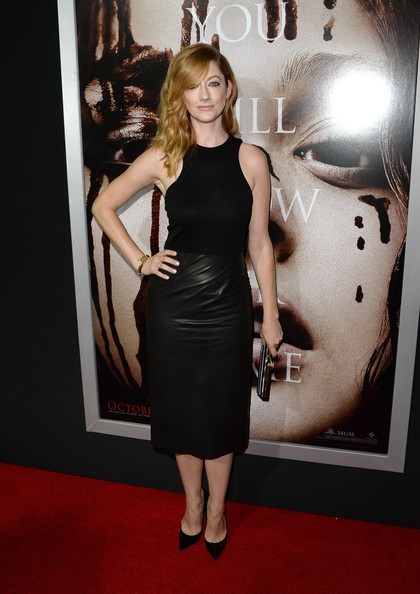 Judy Greer Little Black Dress