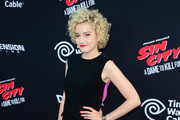 Julia Garner Peep Toe Pumps