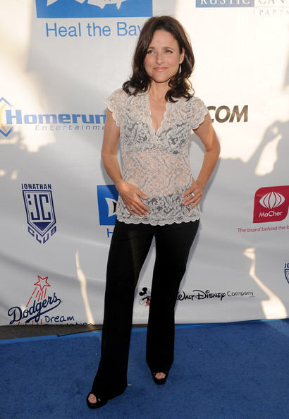 Julia Louis-Dreyfus Fitted Blouse