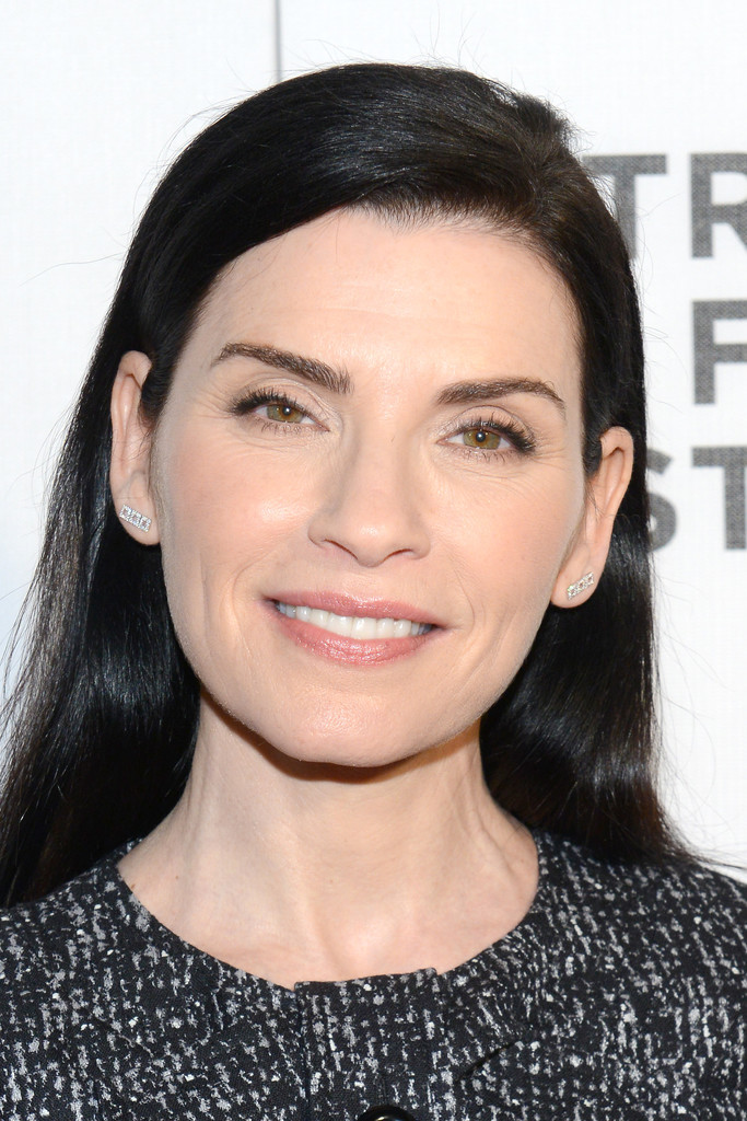 Julianna Margulies Long Side Part Long Hairstyles