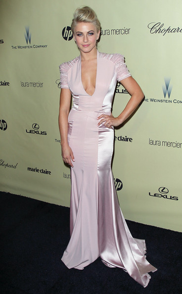 Julianne Hough Mermaid Gown