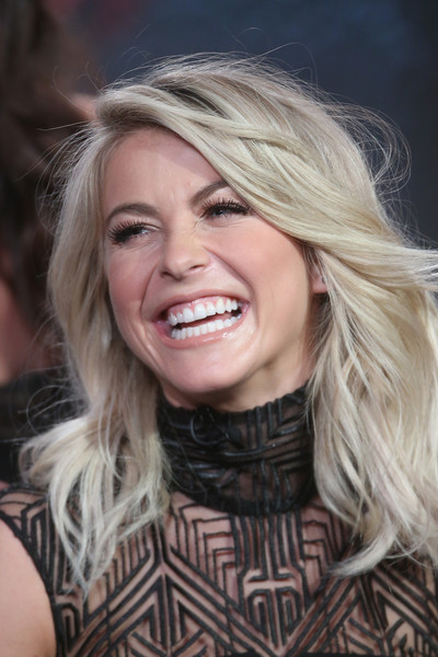Julianne Hough Feathered Flip
