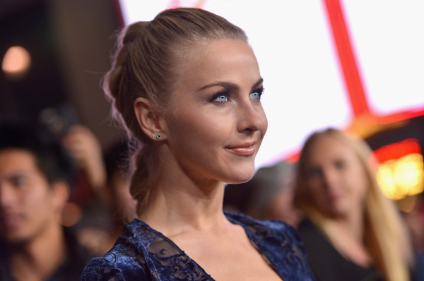 Julianne Hough Long Braided Hairstyle