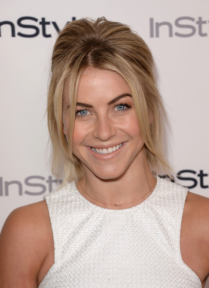 Julianne Hough Half Up Half Down