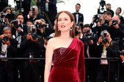 Julianne Moore One Shoulder Dress