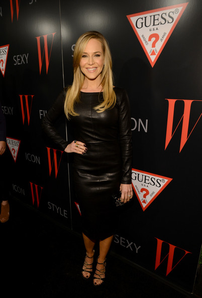 Julie Benz Leather Dress