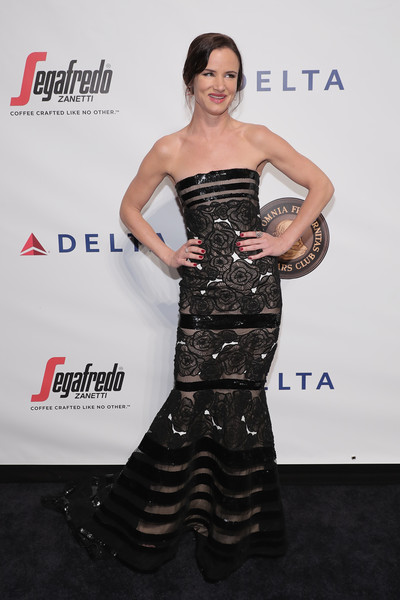 Juliette Lewis Mermaid Gown