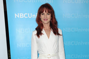 Juliette Lewis' Red Hot Tresses
