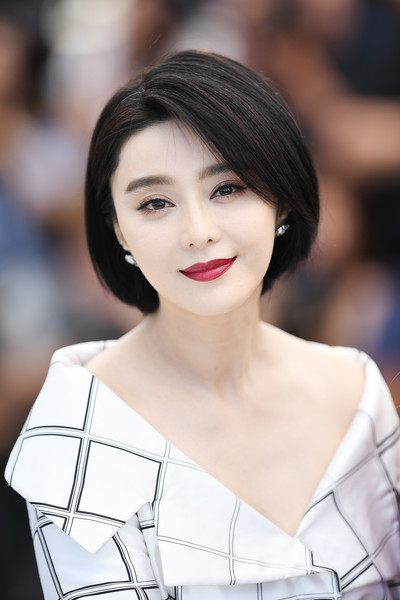 Fan Bingbing sported a neat bob at the Cannes Film Festival jury photocall.