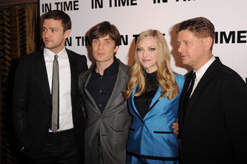 Justin Timberlake Amanda Seyfried In Time - UK Premiere - Inside Arrivals