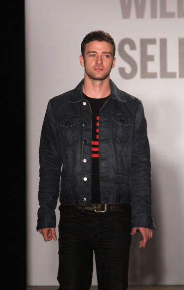 Justin Timberlake Leather Belt