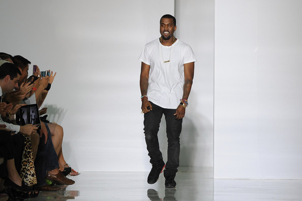 Kanye+West in DW by Kanye West: Runway - Paris Fashion Week Spring / Summer 2012