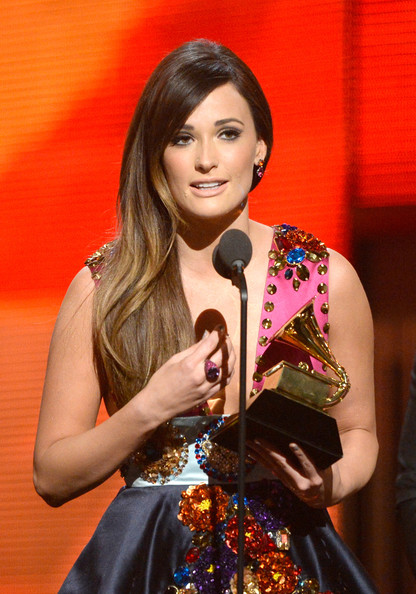 Kacey Musgraves Cocktail Ring [best country album,performance,music artist,singer,singing,event,talent show,performing arts,music,modern art,song,kacey musgraves,award,same trailer different park,california,los angeles,staples center,show,56th grammy awards]
