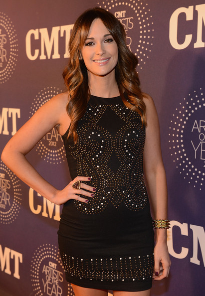 Kacey Musgraves Statement Ring [clothing,dress,fashion,cocktail dress,fashion model,little black dress,shoulder,long hair,premiere,neck,arrivals,kacey musgraves,franklin,the factory,tennessee,cmt artists of the year]