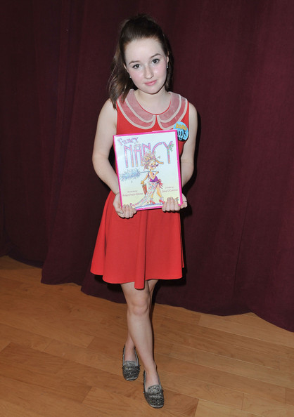Kaitlyn Dever Mini Dress [clothing,fashion,child model,dress,footwear,child,fashion design,pattern,style,kaitlyn dever,bookpals,west hollywood,california,screen actors guild foundation celebrates 20 years,west hollywood city council chamber,celebration]