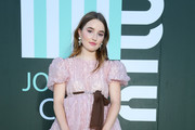 Kaitlyn Dever Leather Clutch