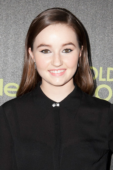 Kaitlyn Dever Long Side Part [season,hair,hairstyle,eyebrow,lip,forehead,brown hair,long hair,smile,premiere,white-collar worker,arrivals,kaitlyn dever,fig,golden globe award,olive melrose place,west hollywood,california,hollywood foreign press association,instyle]