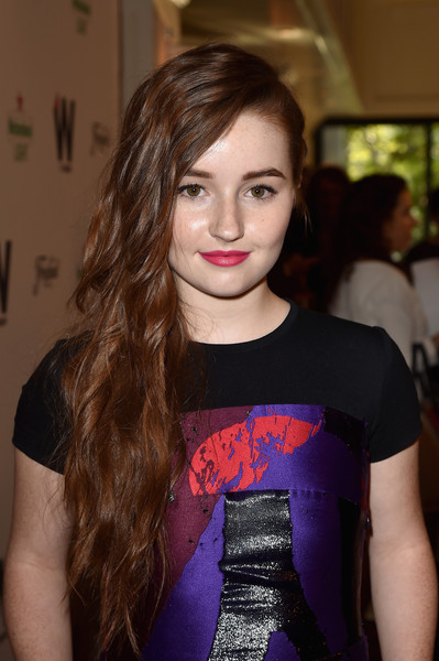 Kaitlyn Dever Side Sweep [red carpet,hair,face,lip,beauty,hairstyle,eyebrow,fashion,long hair,brown hair,model,thewrap,kaitlyn dever,emmy,west hollywood,california,the london hotel,party,2nd annual emmy party]