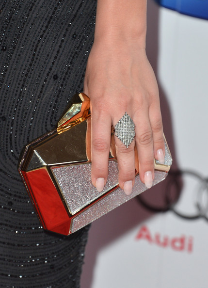 Kaley Cuoco Hard Case Clutch