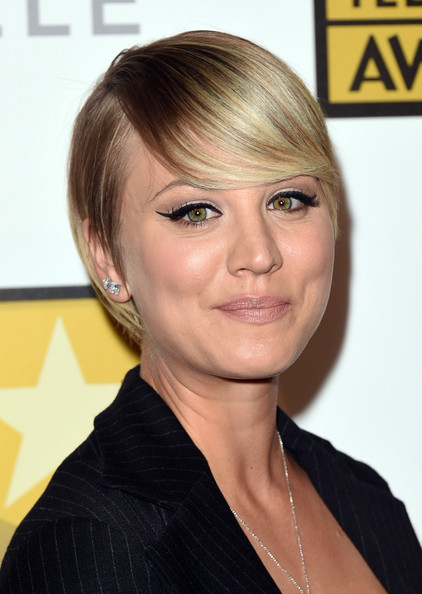 Kaley Cuoco Emo Bangs