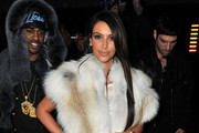 Kim Kardashian attends the Kanye West  Ready-To-Wear Fall/Winter 2012 show as part of Paris Fashion Week at Halle Freyssinet on March 6, 2012 in Paris, France.