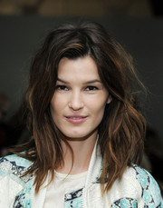 Hanneli Mustaparta's mussed-up waves at the Karen Walker show gave her a sexy, just-got-out-of-bed feel.